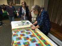 Tools for Squaring a Quilted Quilt