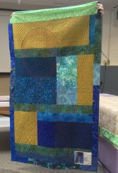 Back of water tower quilt