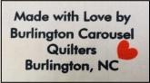 quilt guild label