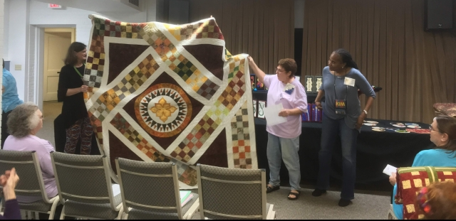 group with quilt