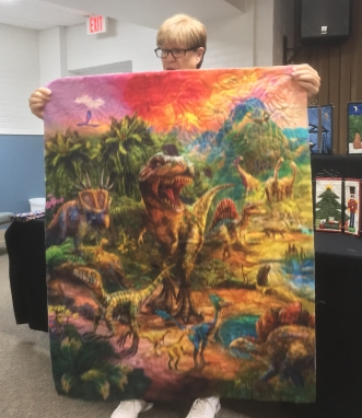 Dinosaur quilt