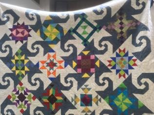 Ann's Snail's Trail quilt