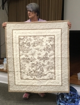 Lisa's charity quilt