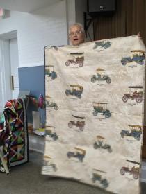 Back of Ann's quilt
