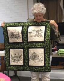 Covered bridges quilt