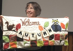quilted autumn banner