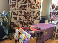 raffle quilt display