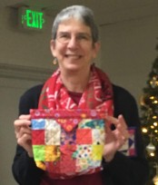 Barbara T's snap pouch
