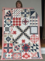 Debbie's 2019 mystery quilt