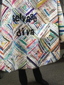 selvage diva cape