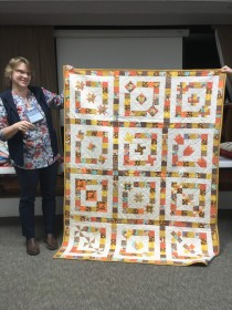 autum colors quilt