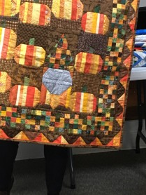 gnome in pumkin quilt