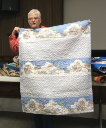 Ann's third quilt for kids