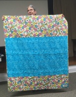 back of X and O quilt
