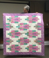 Strip stack quilt